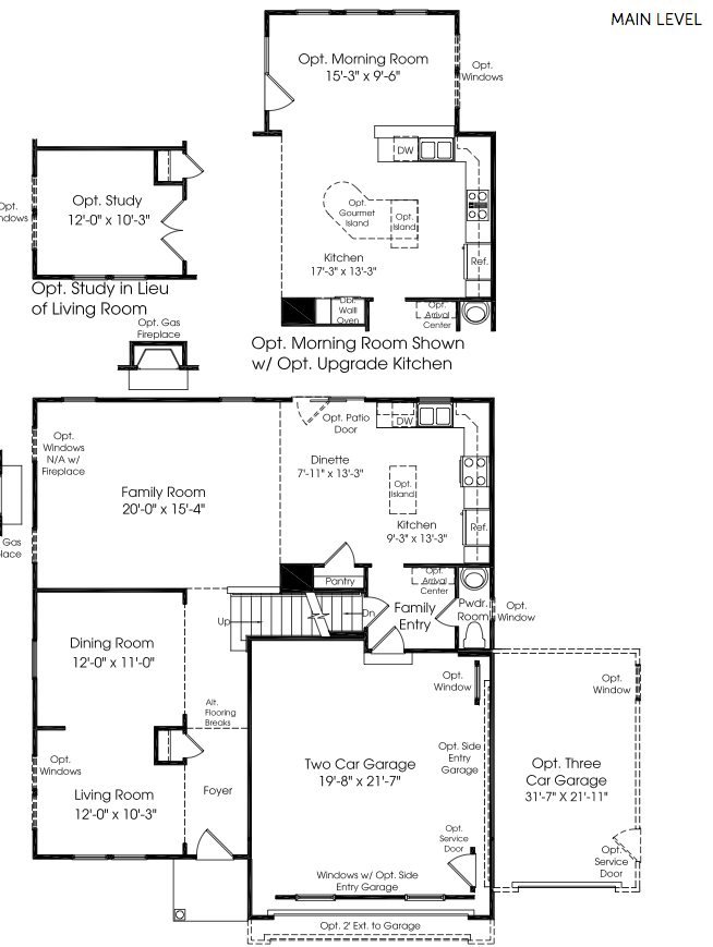 Featured Floorplan The Milan by Ryan Homes Springbank of Plainfield